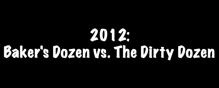 Music Box Report Card: 2012's Baker's Dozen vs. Dirty Dozen