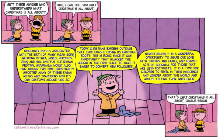 Linus: the REAL meaning of Christmas
