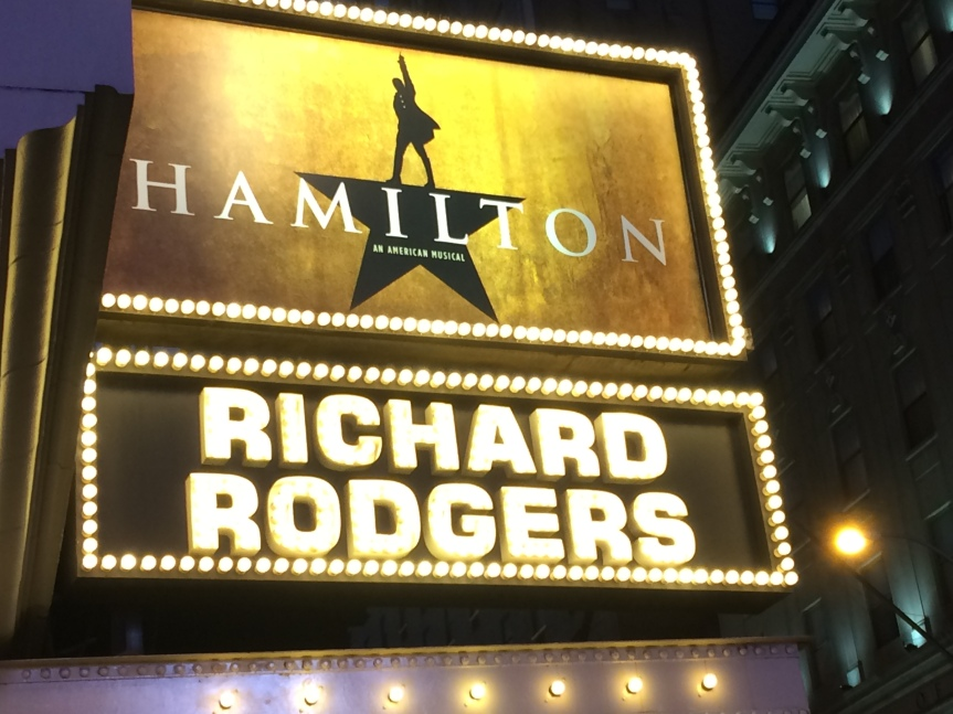 Music Box: Hamilton the Musical – History Is Happening In Manhattan